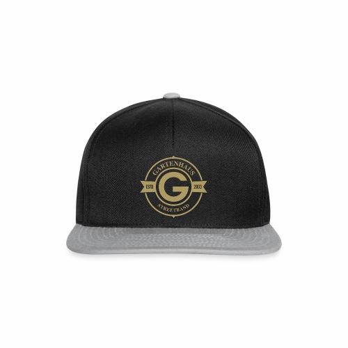 Gartenhaus Cap / goldenfarbiges Logo - Snapback Cap