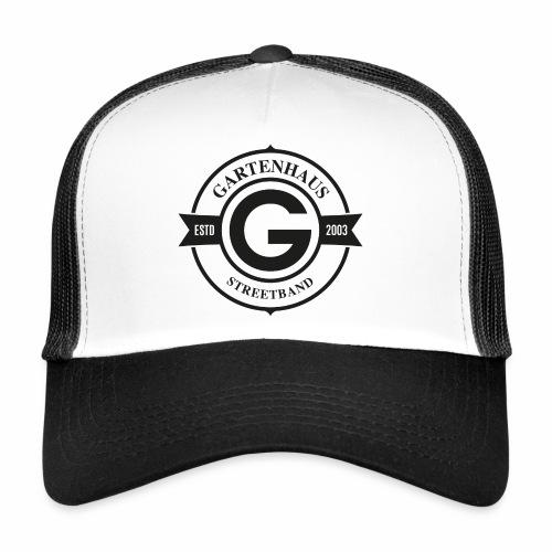 Gartenhaus Trucker-Cap / schwarzes Logo - Trucker Cap