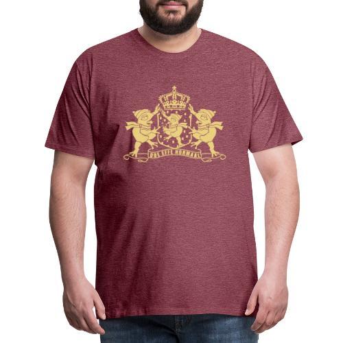 Paspoort met kikkers mannen - Mannen Premium T-shirt