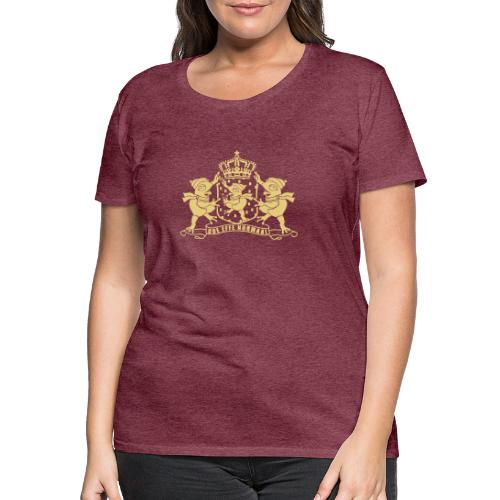 Paspoort met kikkers ladies - Vrouwen Premium T-shirt
