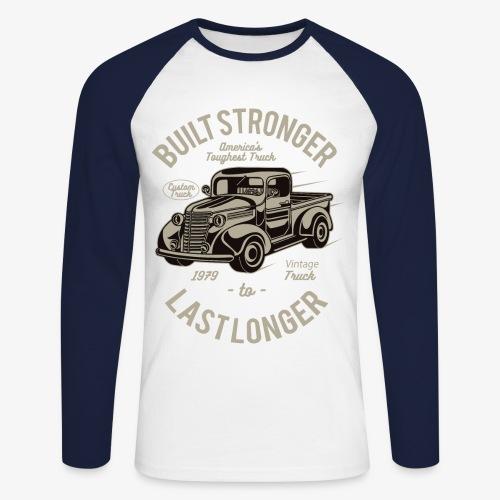 Last Longer T-shirt Longsleeve - Langærmet herre-baseballshirt
