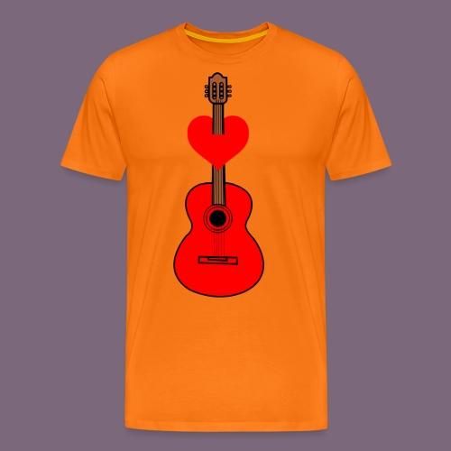 Music lover - Miesten premium t-paita