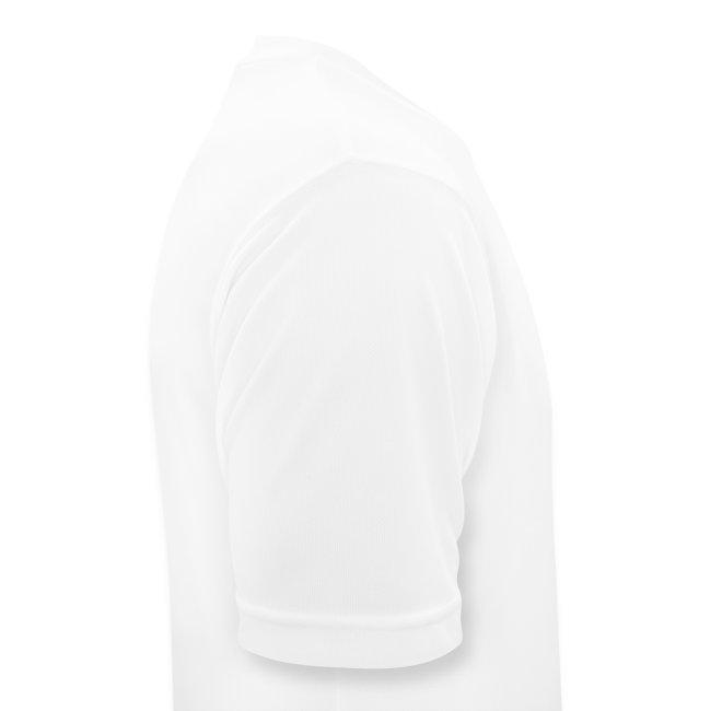 Tekninen t-paita, musta painatus, miesten malli