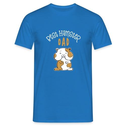 T-Shirt homme Best hamster dad  - T-shirt Homme