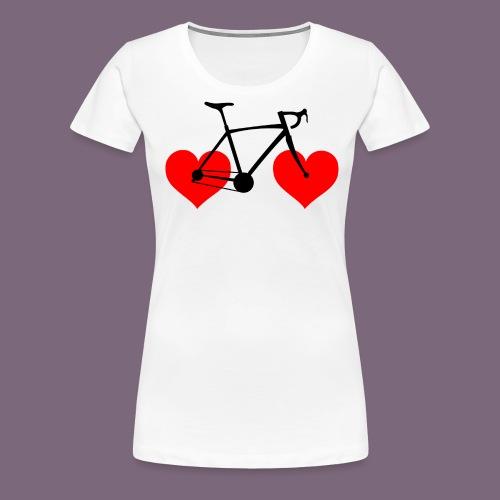 Loveride paita - Naisten premium t-paita