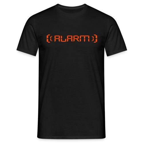 Alarm Shirt - Männer T-Shirt