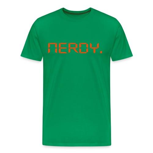 Nerdy - Männer Premium T-Shirt