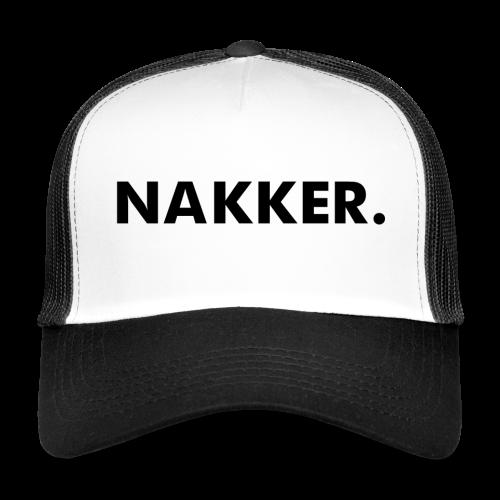 Nakker Cap Wit - Trucker Cap