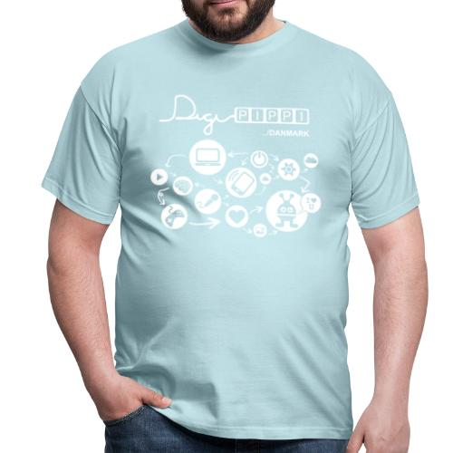 DigiPippi 2019 - DK Logo - Herre-T-shirt