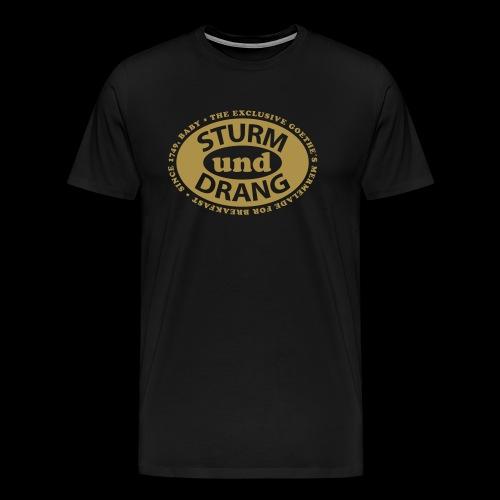 Tormenta y estrés. Edición especial Goethe romanticismo alemán.  - Men's Premium T-Shirt
