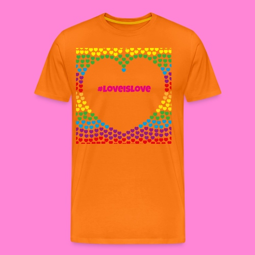 Love is love - Mannen Premium T-shirt