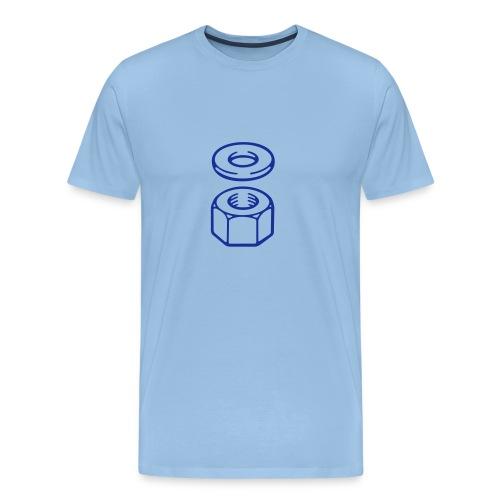 Nut and washer - Men's Premium T-Shirt