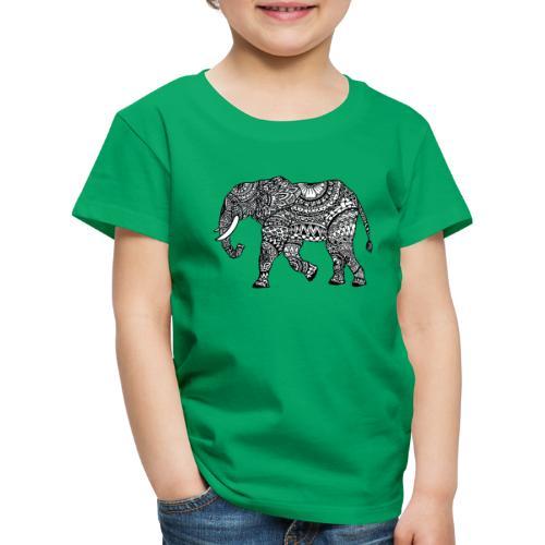 lässiges Kinder-Shirt mit Elefant  - Kinder Premium T-Shirt