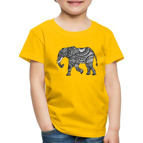 lässiges Kinder-Shirt mit Elefant  - Kinder Premium T-Shirt
