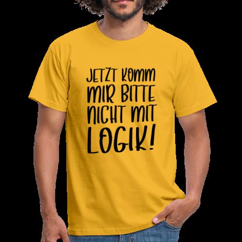 Logik Nicht Rational Denken Spruch T-Shirt - Männer T-Shirt