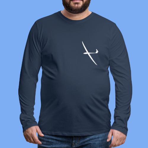 Nimbus 4 Segelflugzeug Segelflieger Geschenk Tshirt - Men's Premium Longsleeve Shirt