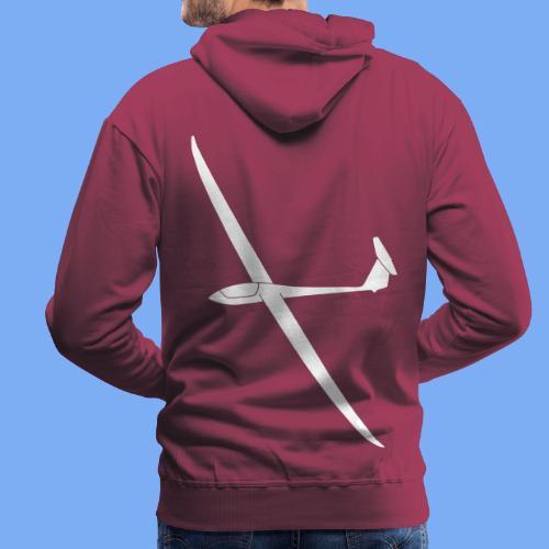 Nimbus 4 Segelflugzeug Segelflieger Geschenk Tshirt - Men's Premium Hoodie