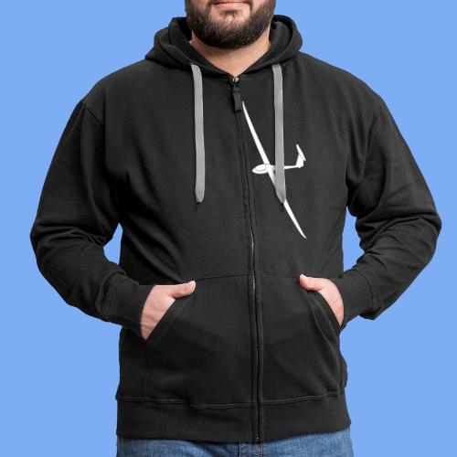 Nimbus 4 Segelflugzeug Segelflieger Geschenk Tshirt - Men's Premium Hooded Jacket