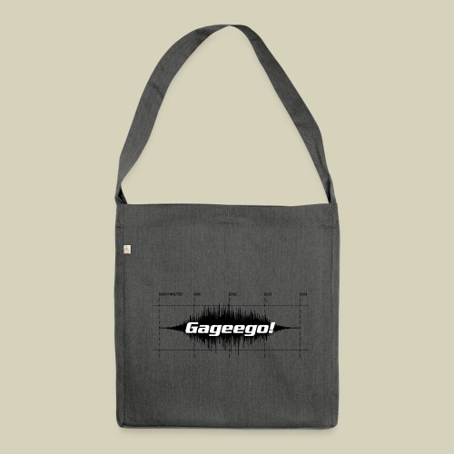 Gageego! score bag - Shoulder Bag made from recycled material