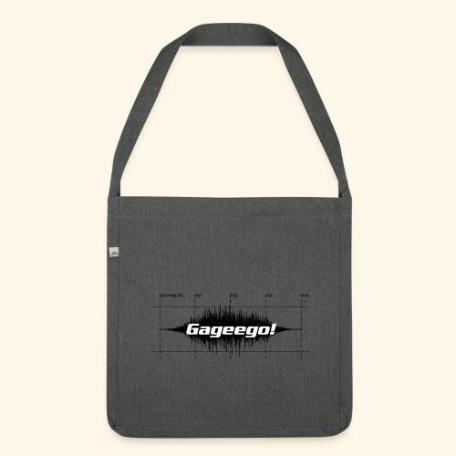 Gageego! score bag - Axelväska av återvinningsmaterial