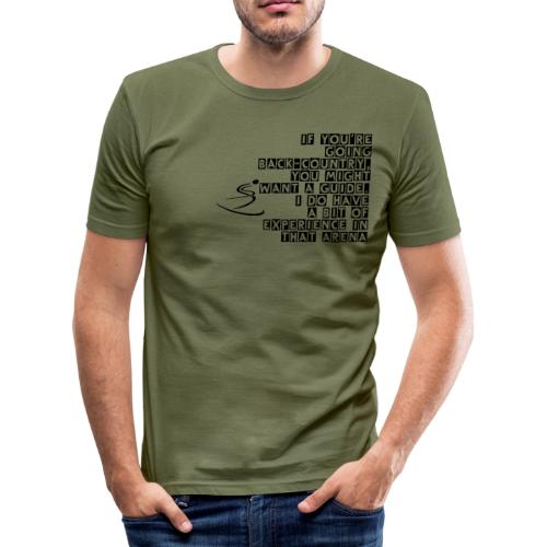 Back-Country Guide - Men's Slim Fit T-Shirt
