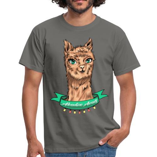 T-Shirt - Alpaka Adventure (Kerle) - Männer T-Shirt