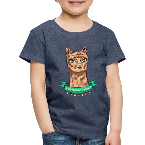 Premium Shirt - Alpaka Adventure (Kiddies) - Kinder Premium T-Shirt