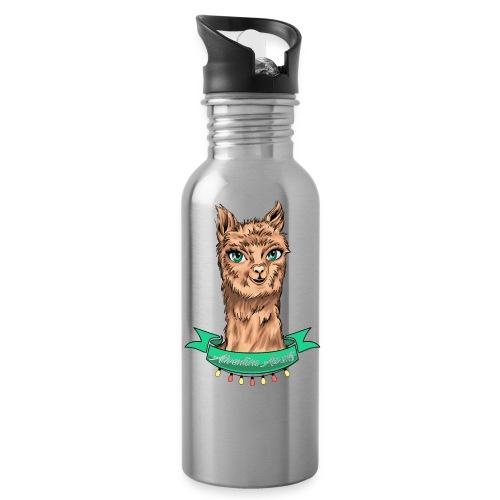Trinkflasche - Alpaka Adventure - Trinkflasche