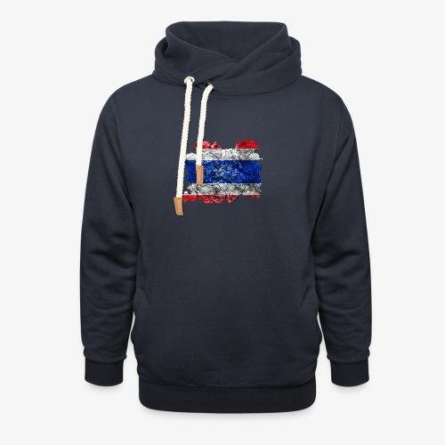 Sjaalkraag hoodie