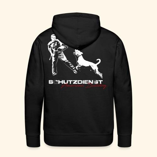 american Bulldog _test - Männer Premium Hoodie