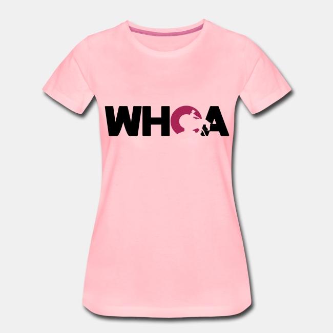 Whoa Damen Shirt