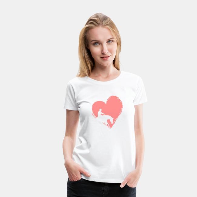 Reining mit Herz Frauen Shirt