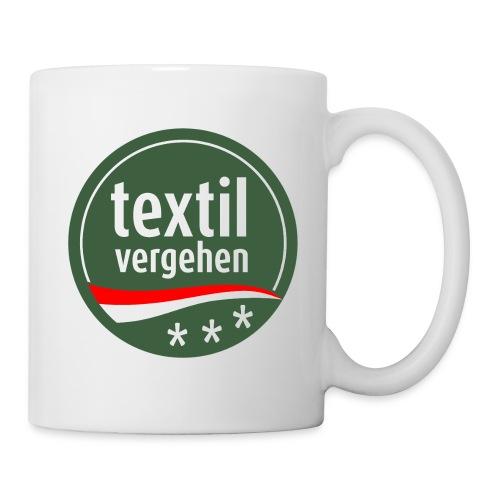 Textilvergehen-Tasse - Tasse