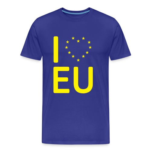 I *Heart* EU T-Shirt - Men's Premium T-Shirt