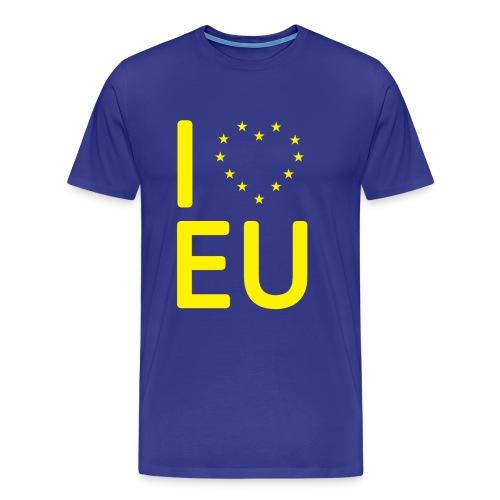 I *Heart* EU T-Shirt - Men's Premium T-Shirt