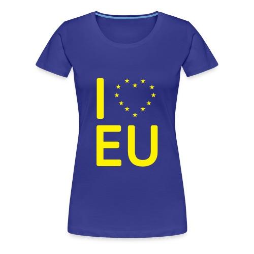 I *Heart* EU Woman's T-Shirt - Women's Premium T-Shirt