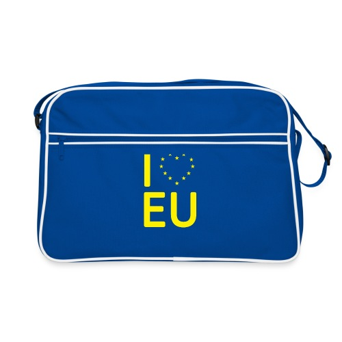 I *Heart* EU Tote Bag - Retro Bag