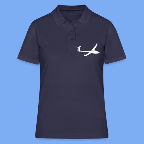 Glasflügel Hornet Segelflugzeug Segelflieger Geschenk Tshirt - Frauen Polo Shirt