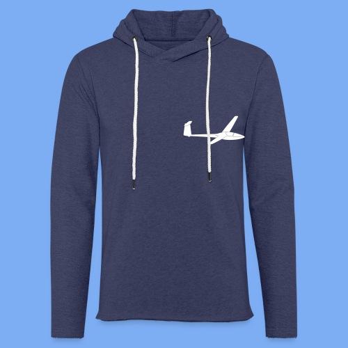 Glasflügel Kestrel Segelflugzeug Segelflieger Geschenk Tshirt - Light Unisex Sweatshirt Hoodie