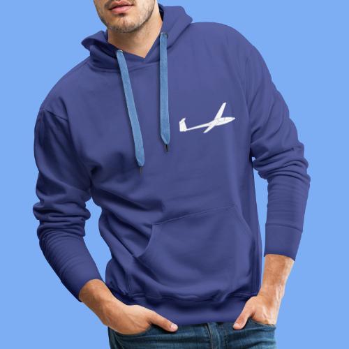 Glasflügel Kestrel Segelflugzeug Segelflieger Geschenk Tshirt - Men's Premium Hoodie