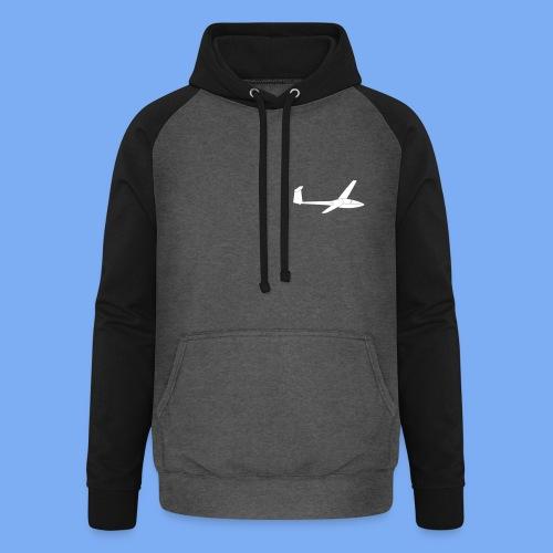 Glasflügel Kestrel Segelflugzeug Segelflieger Geschenk Tshirt - Unisex Baseball Hoodie