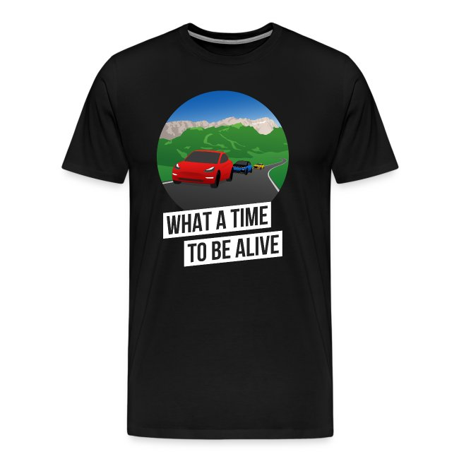 What a Time to Be Alive – Team-Shirt