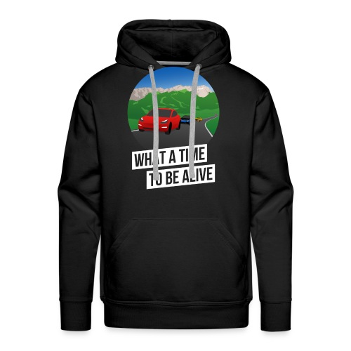 What a Time to Be Alive – Team-Hoodie - Männer Premium Hoodie