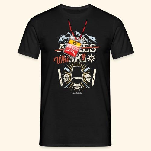 Apres Ski T Shirt  Team Whisky - Männer T-Shirt