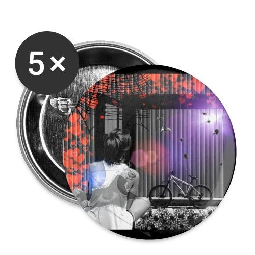 Point of View Bottoni & Spille - Confezione da 5 spille piccole (25 mm)