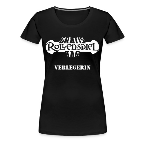 GRT-Girly Verlegerin - Frauen Premium T-Shirt