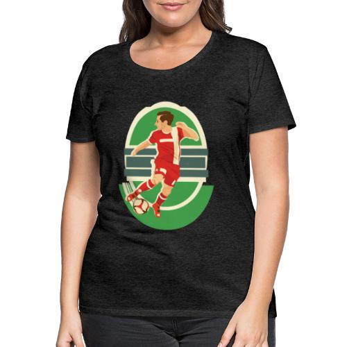 Spieler - Frauenshirt (anthrazit) - Frauen Premium T-Shirt