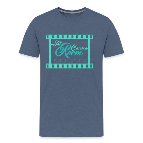 Male Cinema Room Podcast Tee 1 - Men's Premium T-Shirt