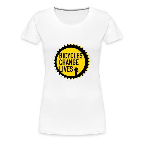 BCL Yellow Cog Ladies - Women's Premium T-Shirt