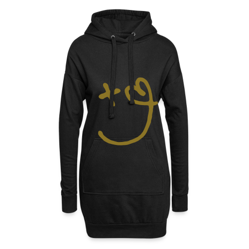 Love and Positivity GOLD PRINT - Hoodie Dress